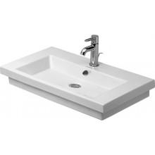 Umyvadlo klasické Duravit s otvorem 2nd floor 70x46 cm bílá+wondergliss