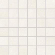 RAKO TRINITY mozaika 30x30cm, lepená na síťce, bílá
