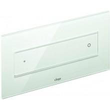 VIEGA VISIGN FOR STYLE 12 8332.1 WC ovládací deska 271x140mm, sklo čiré/světle šedá