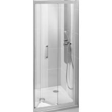 IDEAL STANDARD SYNERGY dveře skládací 800x1900mm, sklo, lesklá stříbrná