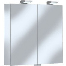 KEUCO ROYAL 35 zrcadlová skříňka 800x740mm, s osvětlením, stříbrná