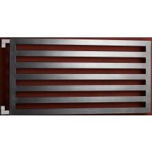P.M.H. DARIUS DA3A koupelnový radiátor 6001800mm, 889W, metalická antracit