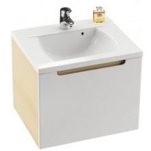 Nábytek skříňka pod umyvadlo Ravak SD Classic 600  60x49x47 cm strip onix/bílá