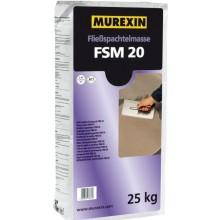 MUREXIN FSM 20 hmota nivelační 25 kg, samozabíhavá, podlahová, pod všechny druhy podlahovin