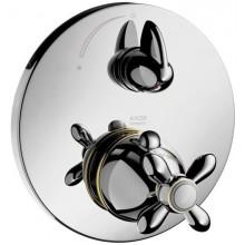 AXOR CARLTON termostatická baterie pod omítku s uzavíracím ventilem chrom 17705000