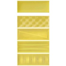 IMOLA POP COOL J dekor 12,5x33,3cm, yellow