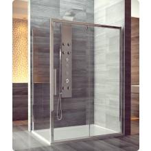 Zástěna sprchová boční Ronal sklo Pur Light S PLST 090 50 07 900x2000mm aluchrom/čiré AQ