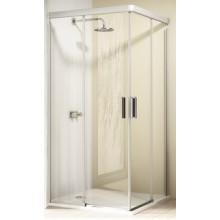 Zástěna sprchová dveře Huppe sklo Design elegance 1200/800x2000mm stříbrná lesklá/čiré AP