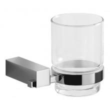 Doplněk držák se skleničkou Jika Cubito  chrom