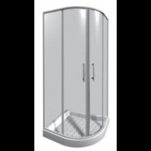 JIKA LYRA PLUS sprchový kout 800x800mm čtvrtkruh, stripy