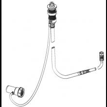 Příslušenství k vanám Kaldewei - Comfort Select 4509 sprchová hadice zapuštěná