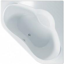 TEIKO NAXOS R vana 140x140x44,5cm, rohová, akrylát, bílá