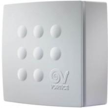 VORTICE QUADRO MICRO 100 T ventilátor odsávací radiální, stěnový, s doběhem, bílá