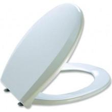 MKW UNIVERSAL PLUS WC sedátko 371x445mm s poklopem, duroplast, bílá