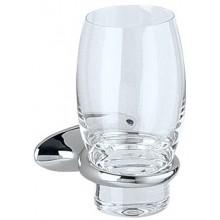 Doplněk sklenička Keuco Cleo  chrom/sklo čiré