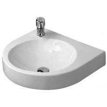 DURAVIT ARCHITEC klasické umyvadlo 575x520mm bez přepadu, bílá/wonder gliss 04495800001