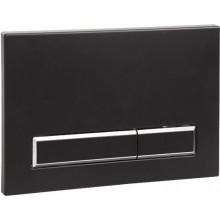 SANELA SLW 53 splachovací tlačítko, do rámu, dvojčinné, plast