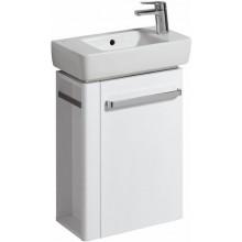 KERAMAG RENOVA NR. 1 COMPRIMO NEW skříňka pod umývátko 44,8x60,4x22,2cm, závěsná, s držákem na ručník vlevo, bílá matná/bílá lesklá 862250000
