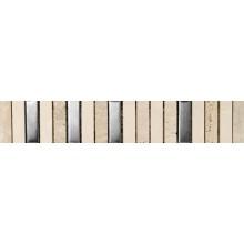 Listela - cenefa Piano 4,8x30cm vícebarevná