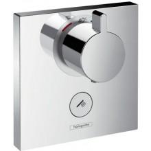 Ventil termostatický Hansgrohe podomítkový ShowerSelect Highflow s uzavíracím ventilem, vrchní díl  chrom