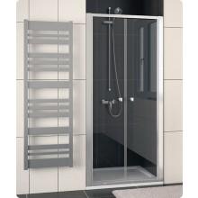 Zástěna sprchová dveře Ronal ECO-Line ECP2 0700 01 07 700x1900 mm matný elox/čiré