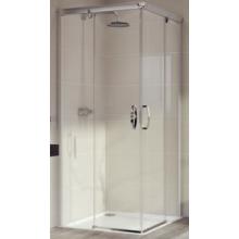 Zástěna sprchová čtverec Huppe sklo Aura elegance 900x1900mm stříbrná matná/čiré AP