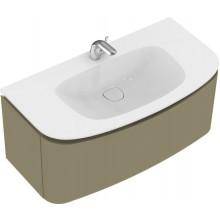 Nábytek skříňka pod umyvadlo Ideal Standard Dea 99x53,5x45 cm lesklý lak zelený