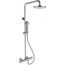 Baterie sprchová Laufen nástěnná termostatická City pro 3395.7 004 536 se sprchovým setem  chrom
