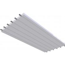 KOTRBATÝ KSP TO GO sálavý panel 900x2000mm, závěsný, teplovodní, bílá RAL 9016