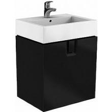 KOLO TWINS skříňka pod umyvadlo 60x57x46cm, závěsná, matná černá 89500000