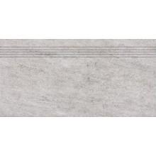 RAKO PIETRA schodovka 30x60cm, šedá