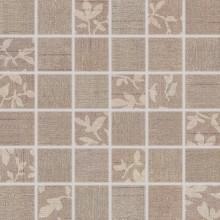Obklad Rako Textile mozaika 30x30 cm (4,7x4,7) hnědá