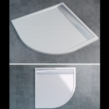SANSWISS ILA WIQ vanička 900x900x30mm čtverec, včetně sifonu a krytu, bílá/bílá