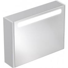 Nábytek zrcadlová skříňka Ideal Standard SoftMood 100x18x60 cm lesklý lak světle šedý