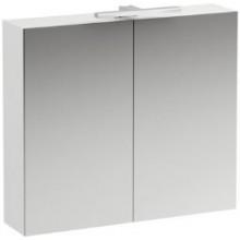 LAUFEN BASE zrcadlová skříňka 800x185x700mm, s osvětlením, bílá