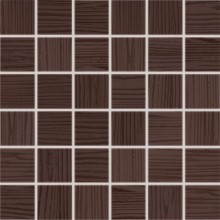 Obklad Rako Wenge mozaika 30x30(4,7x4,7)cm hnědá