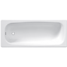 JIKA TANZA vana klasická 1400x700mm ocelová, bílá