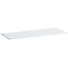 LAUFEN KARTELL BY LAUFEN deska 1200x460x12mm s výřezem uprostřed, bílá lesklá 4.0772.1.033.631.1