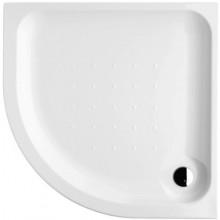 DEEP BY JIKA akrylátová sprchová vanička 900x900mm, čtvrtkruhová, samonosný rám, bílá