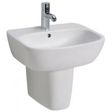 Umyvadlo klasické Kolo s otvorem Style 55x45 cm bílá