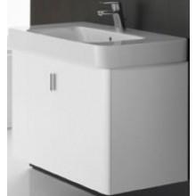 Nábytek skříňka pod umyvadlo Roca Square 55,6x43x54 cm matný lak bílá