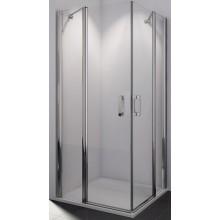 SANSWISS SWING LINE SLE2D sprchové dveře 900x1950mm dvoudílné, pravý díl pro křídlové dveře, aluchrom/sklo Mastercarré