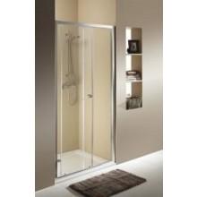 KOLO FIRST posuvné dveře 2-dílné 1200x1900mm stříbrná lesklá/čiré sklo ZDDS12222003