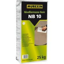 MUREXIN BASIC NB 10 nivelační hmota 25 kg, samozabíhavá, cementová, pod dlažby