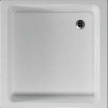 Vanička plastová Teiko čtverec - 80x80x10cm bílá