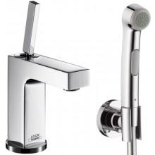 AXOR CITTERIO sada bidette ruční sprcha 1jet/páková umyvadlová baterie Axor Citterio chrom 39220000