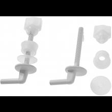 WC příslušenství Jika - těsnění k sedátkům plast