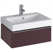 KERAMAG ICON skříňka pod umyvadlo 59,5x24x47,7cm závěsná burgundy lesklá 840261000