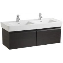 Nábytek skříňka pod umyvadlo Laufen Pro pod dvojumyvadlo 122x39x45 cm bílá-bílá