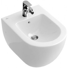 VILLEROY & BOCH VERITY DESIGN bidet 375x560x410mm, bílá Alpin Cermaicplus 540300R1